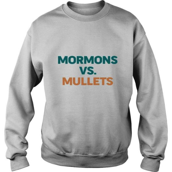 Mormons vs mullets shirt