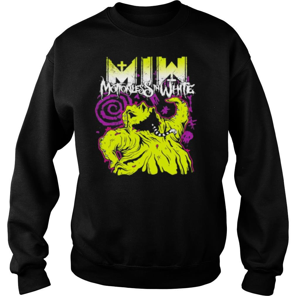Motionless in white merch oogie boogie shirt