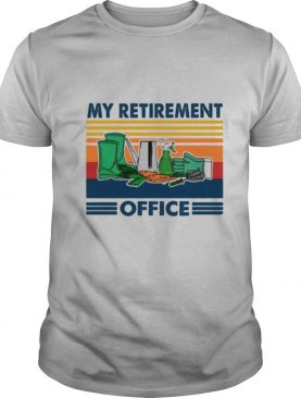 My Retirement Office vintage shirt