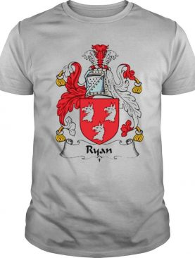 Ryan Coat Of Arms Family Crest shirt