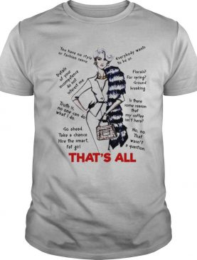 Thats all you have no style or fashion sense everybody wants to be us shirt