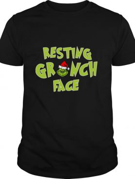 The Grinch Santa Resting Grinch Face shirt