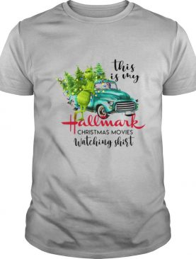 The Grinch This Is My Hallmark Christmas Movies Watching shirt