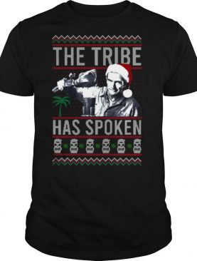 The Tribe Has Spoken Christmas Sweat shirt