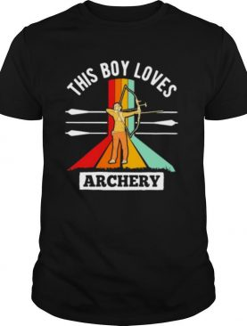 This Boy Loves Archery Vintage shirt