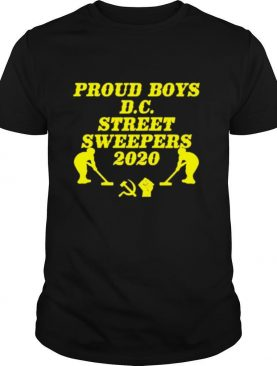 dc street sweepers 2020 shirt