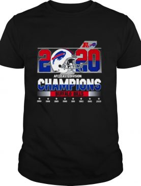 2020 AFC east division Champions Buffalo Bills 1980 2020 shirt