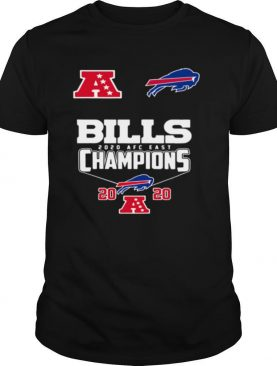 Buffalo Bills 2020 AFC east Champion 2020 shirt