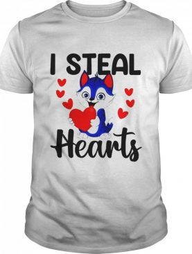 Cat I Steal Hearts shirt