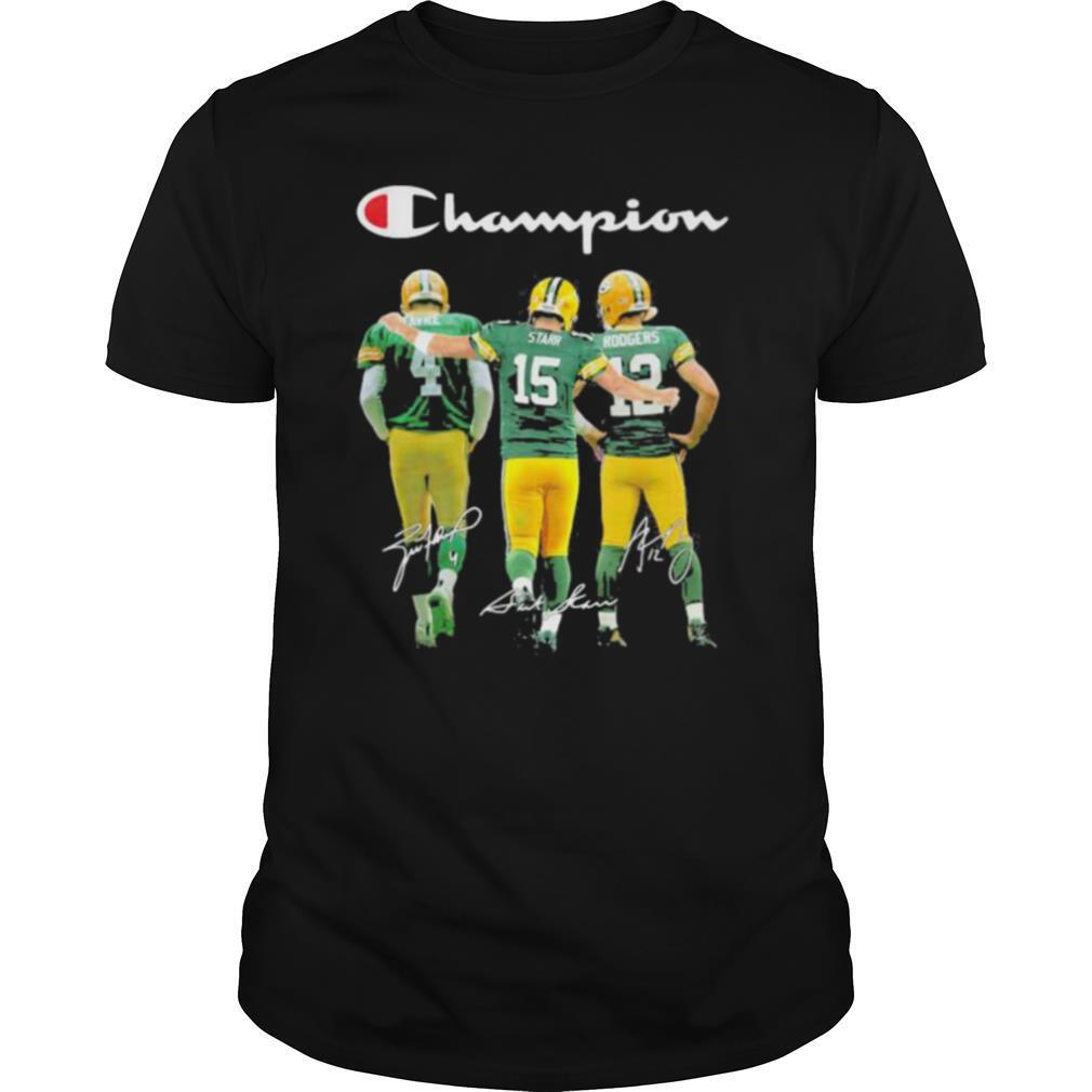 Champion Green Bay Packer Signature shirt0