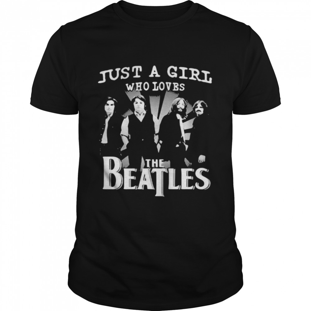 Just A Girl Who Loves The Beatles Classic Mens T shirt