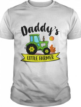 Kids Daddys Little Farmer Agrimotor Country Farm Girls Boys shirt