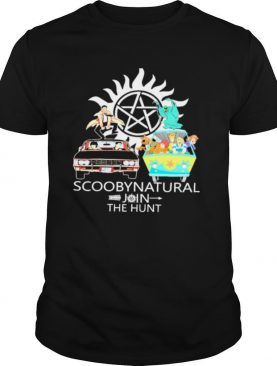 Scoobynatural join the hunt supernatural scooby doo shirt