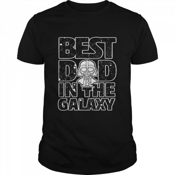 Star Wars Best Dad in the Galaxy Darth Vader  Classic Men's T-shirt