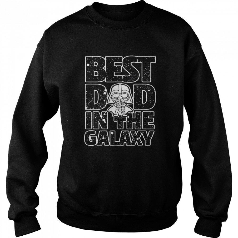 Star Wars Best Dad in the Galaxy Darth Vader  Unisex Sweatshirt