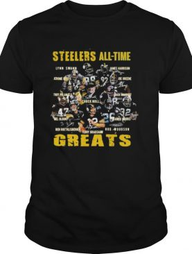 Steelers all the greats signatures shirt