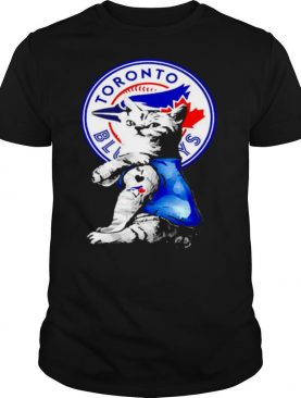 The Cat Tattoos I love Toronto Blue Jays shirt