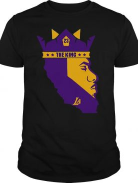The King Los Angeles Lakers 23 Lebron James shirt