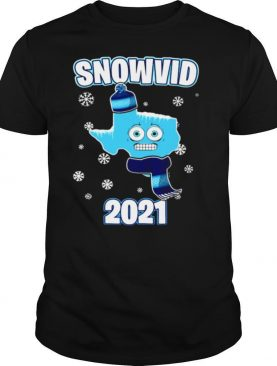 I Survived Snovid 21 2021 Texas Strong Funny Gift Snow Snowvid shirt