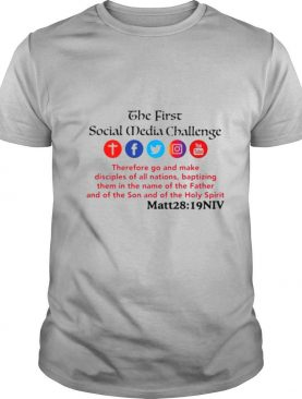 The first social media challenge shirt