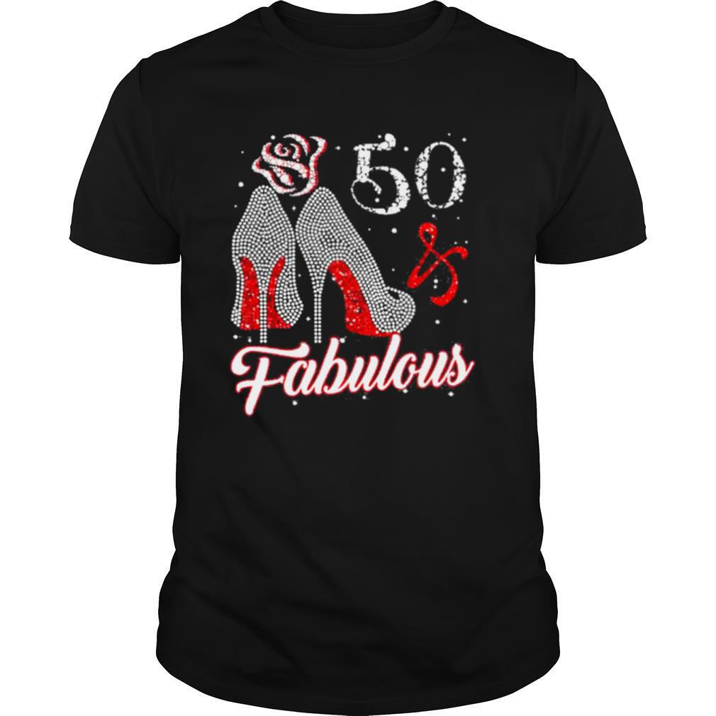 50 And Fabulous 1971 50Th Birthday Shirt0
