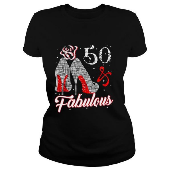 50 And Fabulous 1971 50Th Birthday Shirt