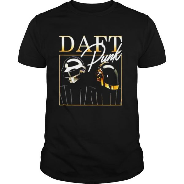 Daft Punk signature shirt