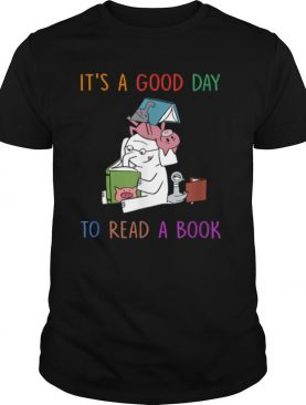Elephant Its A Good Days To Read A Book shirt