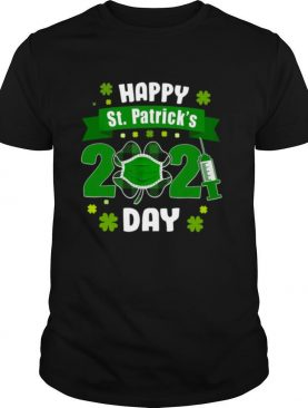 Happy St Patrick's Day 2021 Face Mask With Covid 19 shirt