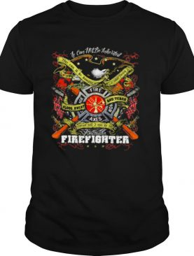 If Can Not Be Inherited Firefighter American Flag shirt