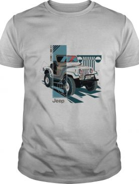 Jeep Wrangler Painted Angles Pullover Shirt