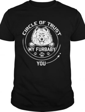 My Furbaby Circle Of Trust Samoyed Dog Lovers shirt