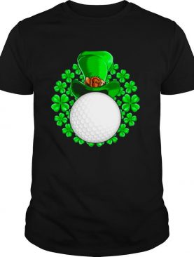 St Patrick's Day Golfing Golf Clover shirt