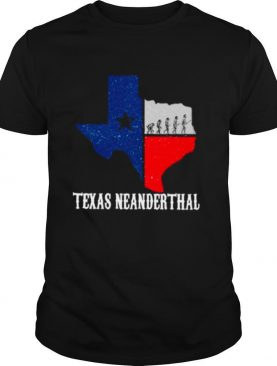 Texas Map Texas Neanderthal Thinking 2021 shirt