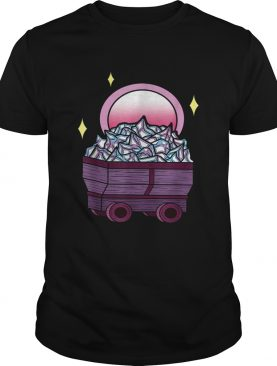 Minecart Cryptocurrency Container shirt
