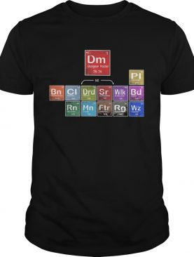 Periodic Table of DnD Shirt