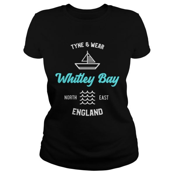 Whitley Bay Tyne and Wear England Shirt Classic Ladies