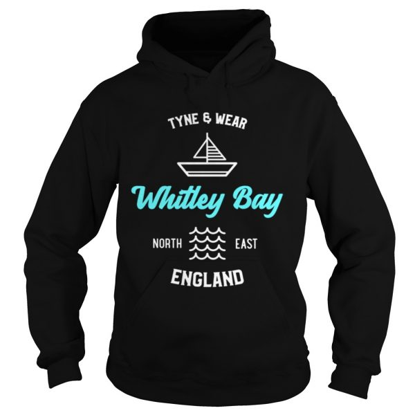 Whitley Bay Tyne and Wear England Shirt Hoodie