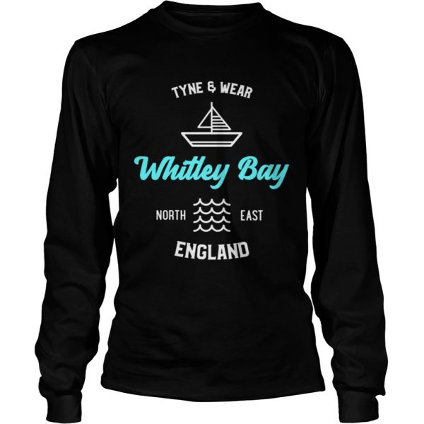 Whitley Bay Tyne and Wear England Shirt Long Sleeve